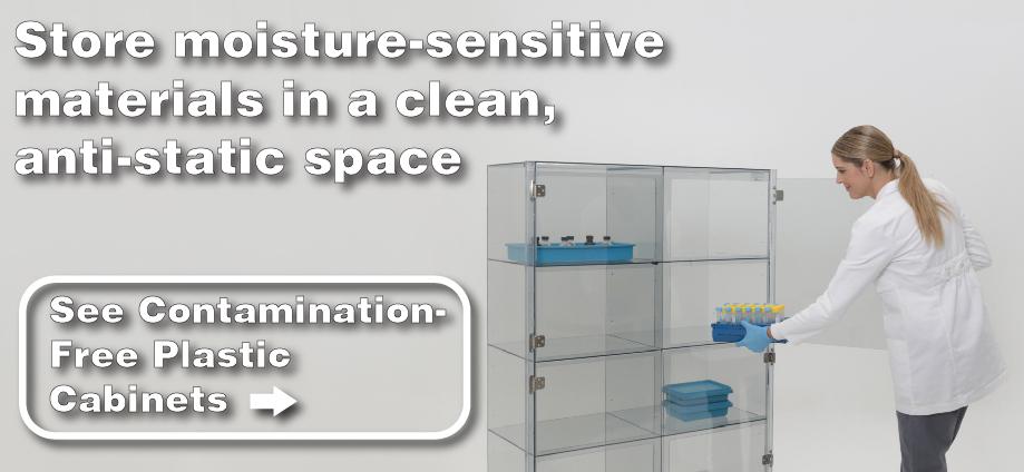 Contamination-Free Plastic Cabinet ad