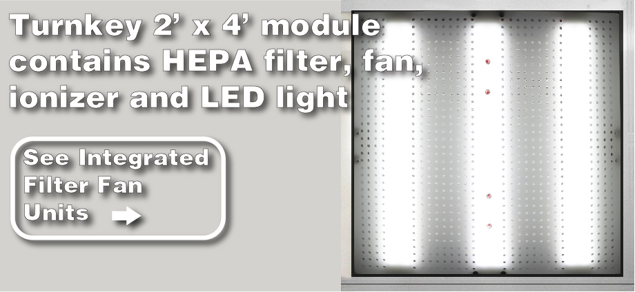 Integrated Filter Fan Units ad
