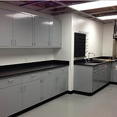 Epoxy Lab Casework