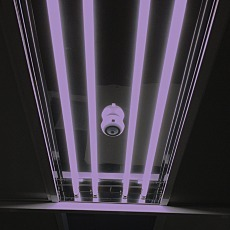 UV-C Germicidal Cleanroom Lamp