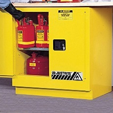 Justrite Undercounter Flammable Safety Cabinet