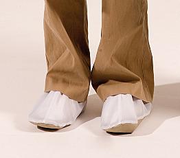 Cleanroom Vidaro B-Fore Boot Covers Orange Medium Pair