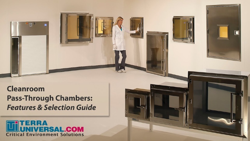 Cleanroom Pass-Through Chamber Video Overview