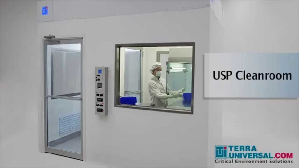USP Cleanroom Construction