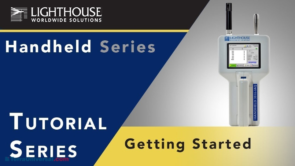 Operating Instruction Video of Handheld Particle Counters by LWS