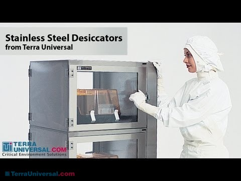 Video Overview of Stainless Steel Desiccator Cabinets