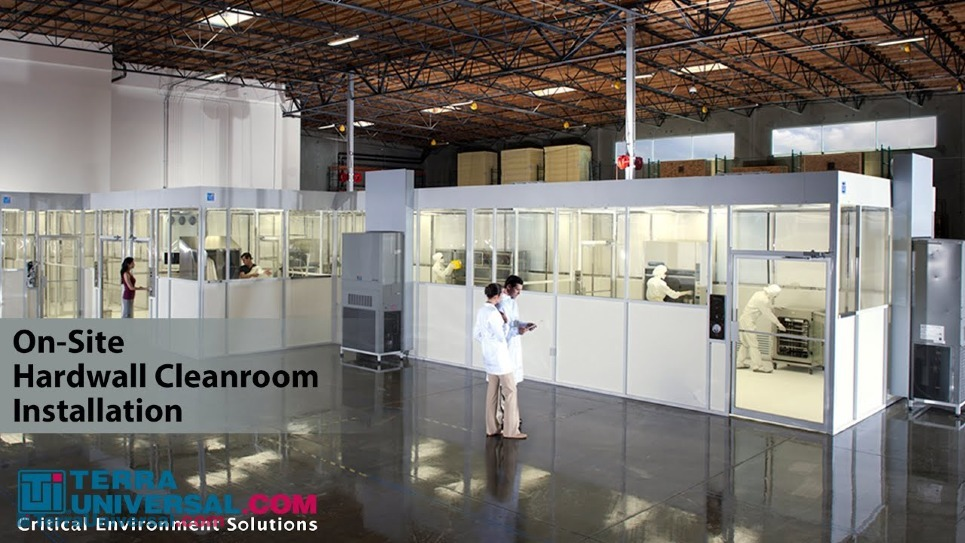 Video of Hardwall Modular Cleanroom Design, Manufacture and Installation