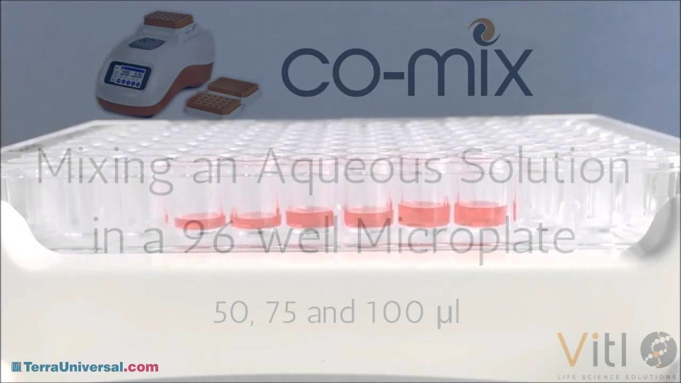 Mixing with the Vitl Co-Mix Laboratory Mixer/Shaker