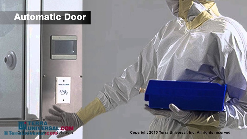 Short video of the automatic door