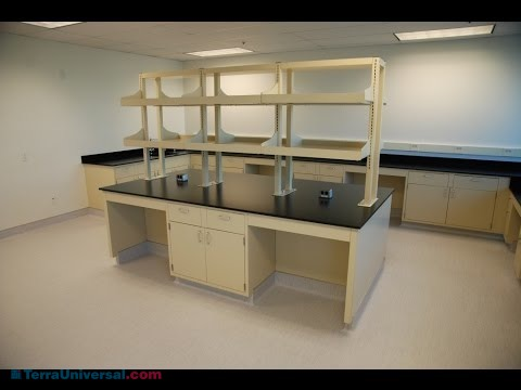 Different combinations of shelves to provide more counter space