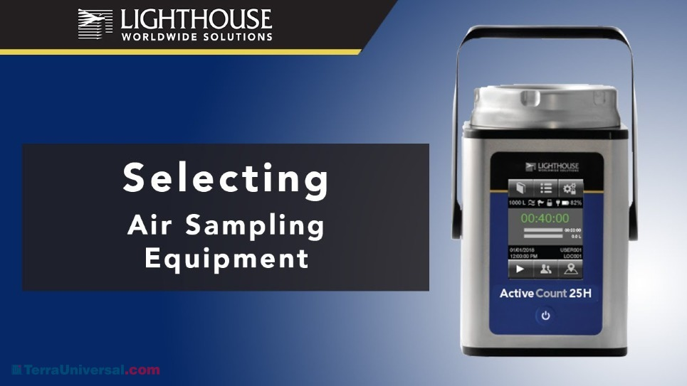 How to Select Air Sampling Equipment by LWS