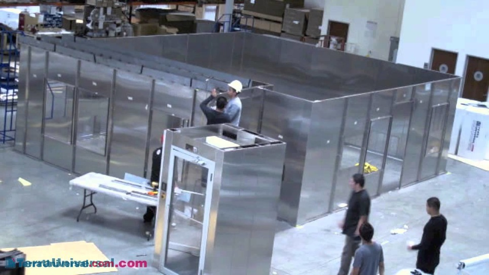 Video of BioSafe Modular Cleanroom Installation