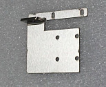 Locking Bracket; SS, LatchLock, for Single-Chamber Width Desiccators