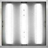 Fan Filter Units with Integrated LED Light and Ionizers