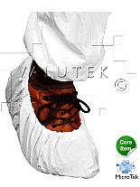 Shoe Cover; Disposable, XL, Cross-Linked Polyethylene, White, Valutek
