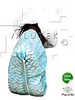 Shoe Cover; Disposable, L, Anti-Skid Polypro, Light Blue, Valutek