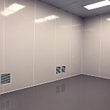 GLASBORD® Cleanroom FRP Wall Panels by Crane Composites