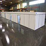 Custom Fire-Retardant Hardwall Cleanroom; 304 Stainless Steel Panels