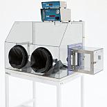 Gas-Purged Plastic Glove box Isolators