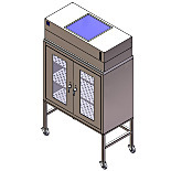 ValuLine™ Mobile Laminar Flow Cabinet with UPS Battery System