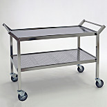 BioSafe® Ultra-Clean Stainless Steel Cleanroom Carts