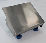 Footrest; ISO 5, 304 Stainless Steel, Tilting/Adjustable