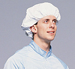 Bouffant; Disposable, One Size Fits All, IsoClean Tyvek, Bulk Pack Processing, DuPont