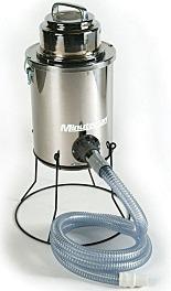 Vacuum Cleaner; Liquid Mercury, Stand, Minuteman, 120 V