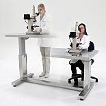 BioSafe® ErgoHeight™ Auto-Adjusting Vibration Isolating Work Stations