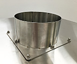 Flange; Stainless Steel for Stainless Steel Pass-Throughs