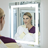 BioSafe® Cleanroom Mirrors with Integrated LED