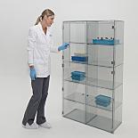 Contamination-Free Plastic Storage Cabinets
