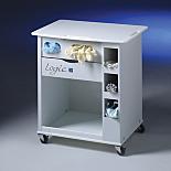 Cart; for Purifer Logic Cabinet, Polypropylene and ABS, 25