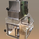 Filtered Exhaust Hood; Mail Handling, Continuous Processing, Clear Acrylic, 36