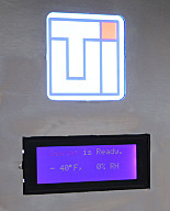 LCD Message Panel, for Smart® Pass-throughs