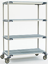 MetroMax i Mobile Shelving by InterMetro