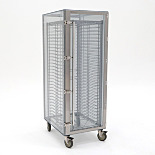 Mobile Desiccator Cabinet; 1 Chamber, Static Dissipative PVC, 23.75