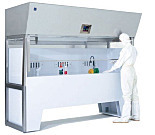 Vertical Laminar Flow Hoods for Wet Processing Benches