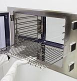 Shelf; Pass-Through, Stainless Steel, Wire