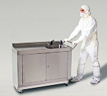 BioSafe® Mobile Hand-Washing Station; 304 Stainless Steel, 49