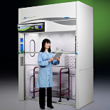 Protector Echo® Floor-Mounted Filtered Fume Hoods by Labconco