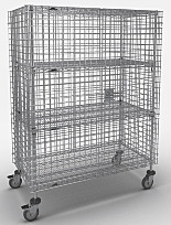 Super Erecta Mobile Security Cages by InterMetro
