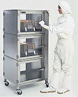 Stainless Steel Adjust-A-Shelf Desiccator Cabinets