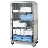 Cart; Medical, Linen, Polymer, 43