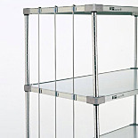 Shelf Rods for Super Erecta Shelves by InterMetro