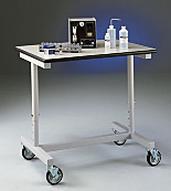 Mobile Bench; Variable Height, for Protector Downdraft, 38