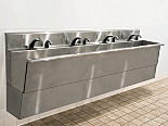 BioSafe® Wall-Mount Cleanroom and Laboratory Sinks