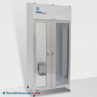Garment Storage Cabinet with Mirror   4101-73C-HD-M displayed