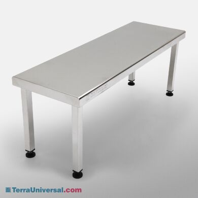 Free Standing Solid Top Gowning Bench   1530-27-2 displayed