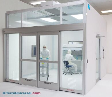Provide the ideal contamination-free processing environment (Model shown with optional accessories)   6601-80 displayed